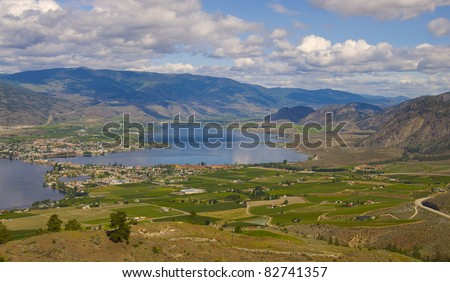 The offical desert of Canada, popular tourist destination, Osoyoos, British Colombia, Canada