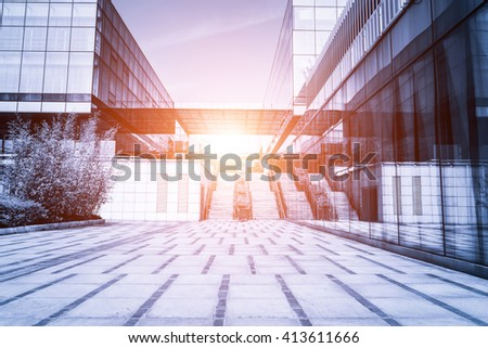 The office building - stock photo