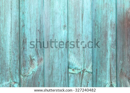 The old blue wood texture with natural patterns - stock photo