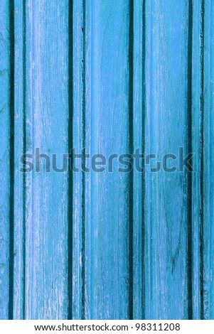 The old blue wooden texture background