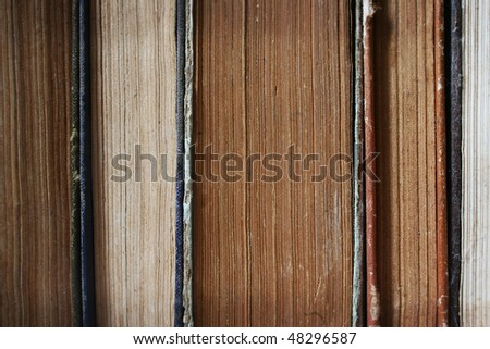 The old book. - stock photo