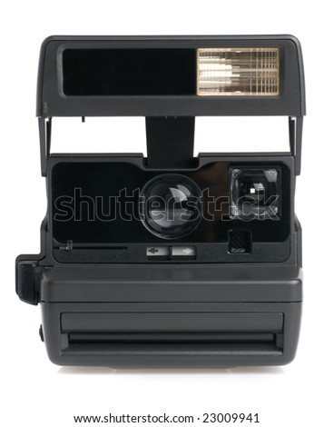 The old camera - stock photo