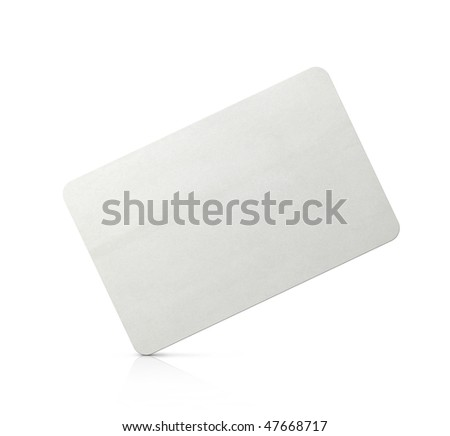 The old card lies on one corner - stock photo