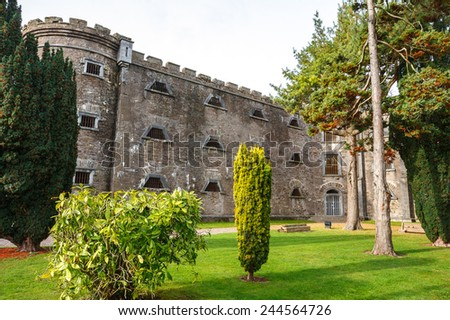 The old City Gaol in Cork. Republic of Ireland. Built in 1824. Now it's a museum - stock photo