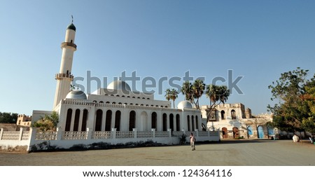 The old city of Massawa in Eritrea.