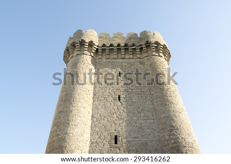 the old fortress from the 15th century - stock photo