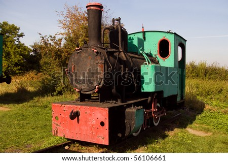 the old locomotive