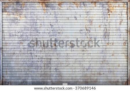Steel Garage Door Texture steel garage door stock photos, royalty-free images & vectors