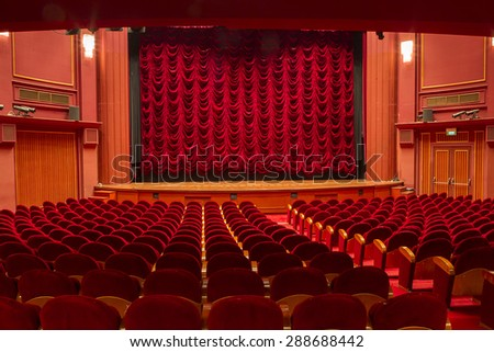 The old theater Olympion in Thessaloniki Build 1920 - stock photo