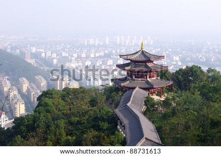 The old tower - stock photo