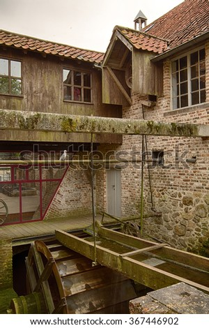 The old water paper mill of Herisem
