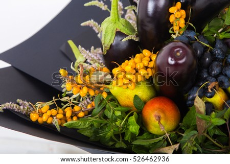 The original unusual edible bouquet of fruits