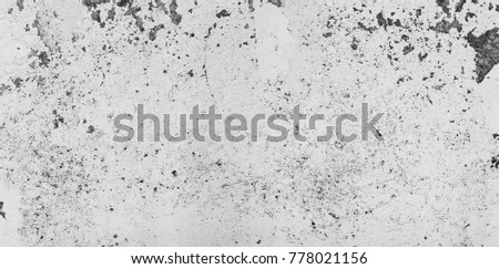 The panorama of grunge gray concrete,cement texture or background.Copy space. Place for text.graphical resource