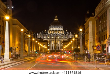 The Papal Basilica of Saint Peter in the Vatican (Basilica Papale di San Pietro in Vaticano)