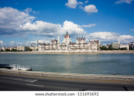 The Parliament in Budapest - stock photo