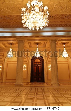 The Parliament - Interior - stock photo