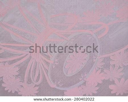 The pattern of the kimono - stock photo