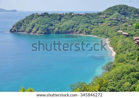 The Peninsula Papagayo in Guanacaste, Costa Rica - stock photo