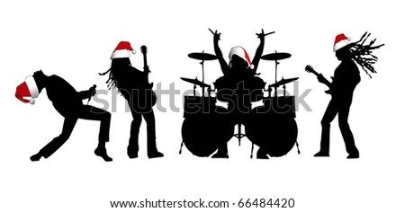 the people silhouettes set  (vector version in portfolio)