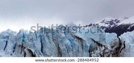 The Perito Moreno Glacier is a glacier located in the Los Glaciares National Park in Santa Cruz Province, Argentina. It is one of the most important tourist attractions in the Argentinian Patagonia.