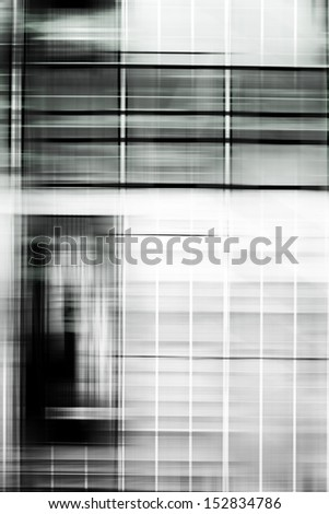 The photograph of a scaffolding via camera movement/Scaffolding abstract
