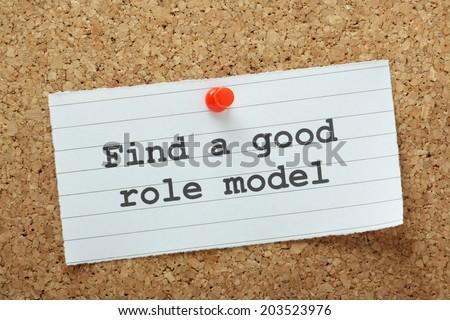describe your role model essay