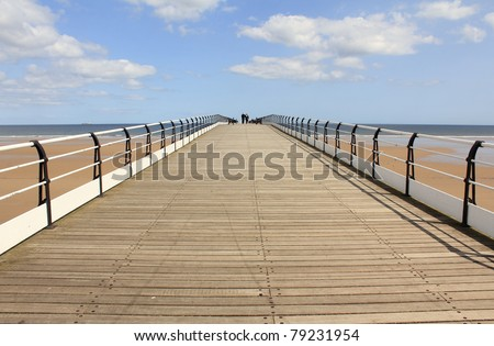 The Pier at Saltburn by the Sea