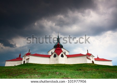 The pilgrimage church zelena hora - green hill - Monument UNESCO