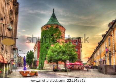 The Powder Tower in Riga, Latvia - stock photo
