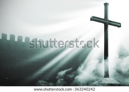 The power of faith - stock photo