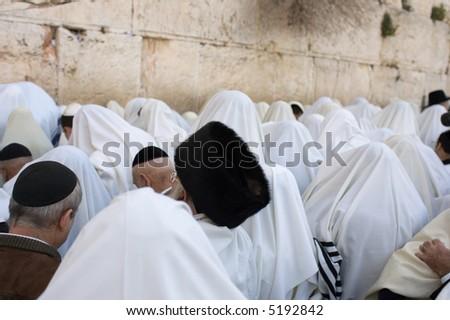 The prayer - stock photo