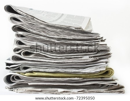 The press - stock photo