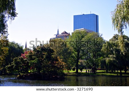 The Public Garden was established in 1837 and was the first public botanical garden in the United States