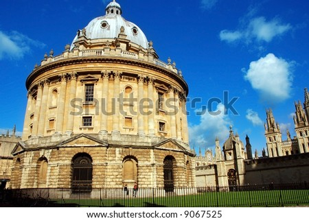 The Radcliffe Camera, Oxford - stock photo