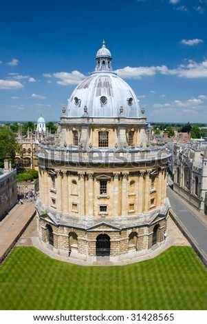 The Radcliffe Camera reading room of Oxford University's Bodleian Library
