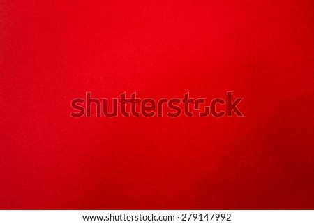 The Red pile fabric texture and background - stock photo