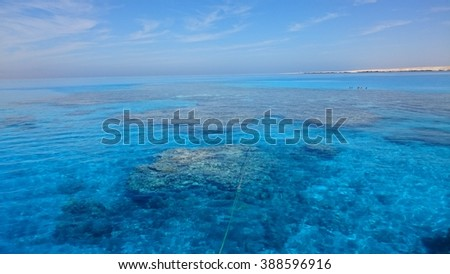 The Red Sea near to Sharm-El-Sheikh.
