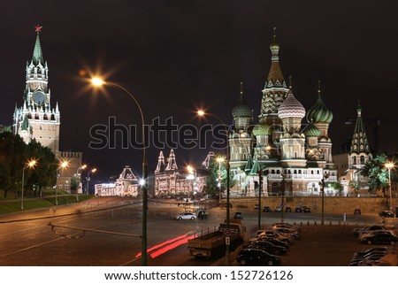 The Red Square in Moscow (Russia)