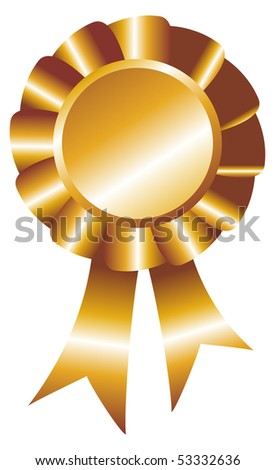 The relief seal  for the diploma - stock photo