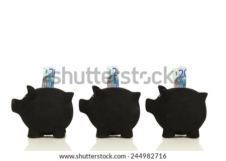 The right child finances - stock photo