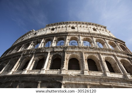 The Roman Colosseum, Rome, Italy