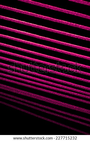 The rope line on light - stock photo