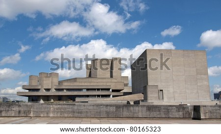 The Royal National Theatre theater in London England United Kingdom UK