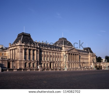 The Royal Palace of Brussels (Palais du Roi), Brussels, Belgium, Europe.