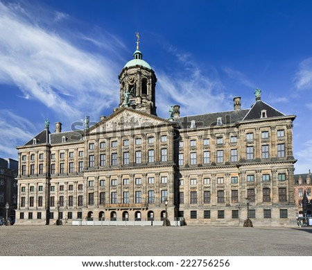 Amsterdam dam square stock images royalty free images for Dam in amsterdam