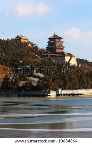 The royal Summer Palace in Beijing.