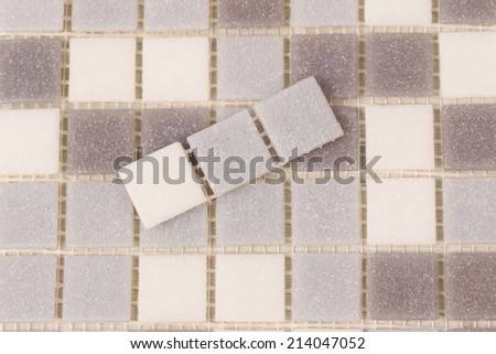 The samples of collection ceramic tile, for backgrounds or textures  - stock photo