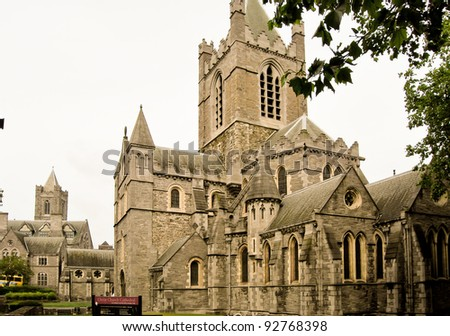 the san patrick cathedral in dublin