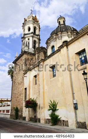 The Sanctuary of Our Lady of Solitude, Guadalajara Jalisco, Mexico - stock photo