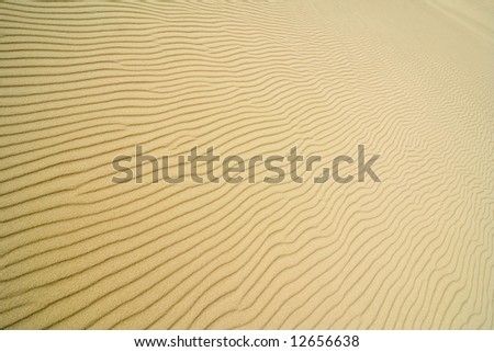 the sand structure - stock photo